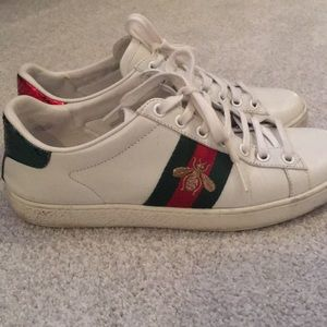 Used Gucci Ace Sneakers